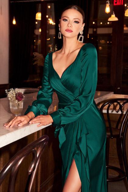 Vestidos de fiesta de satén, lujo y elegancia para tus eventos más importantes en Venezuela - Evening Dress Boutique Margarita