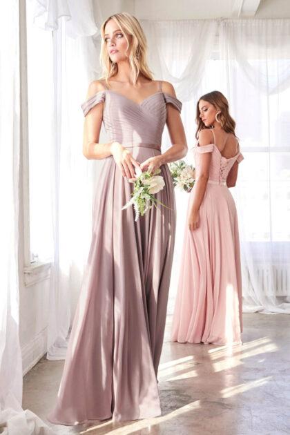 Luce perfecta con este vestido largo de hombros descubiertos y espalda con corsé - Consigue tu vestido de gala ideal con Evening Dress Boutique Margarita, Venezuela