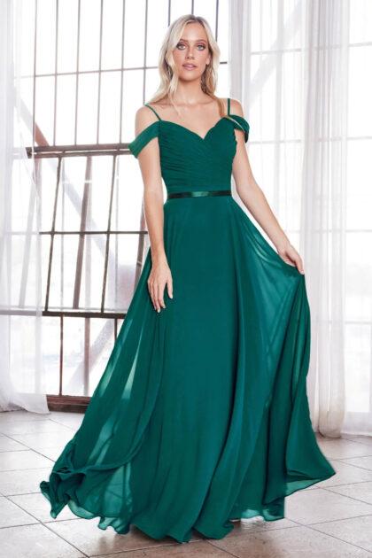 Vestidos largos color verde esmeralda, luce tan brillante como una gema preciosa con nuestros vestidos de gala en Venezuela: Evening Dress Boutique