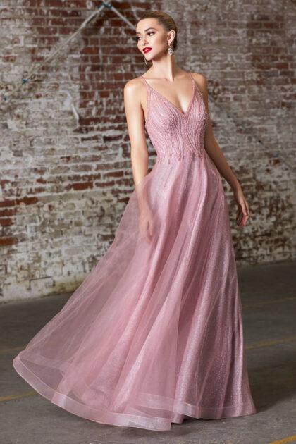 Precioso vestido de fiesta ideal para todo tipo de ocasiones - Luce maravillosa y elegante con Evening Dress Boutique
