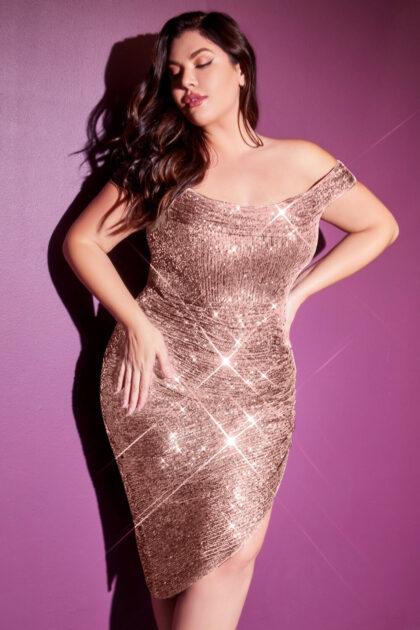 Vestidos cortos plus size, tallas grandes en Caracas, Venezuela - Evening Dress Boutique, mejores precios - Económicos